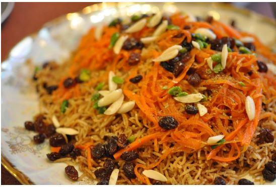 Afghan cooking April