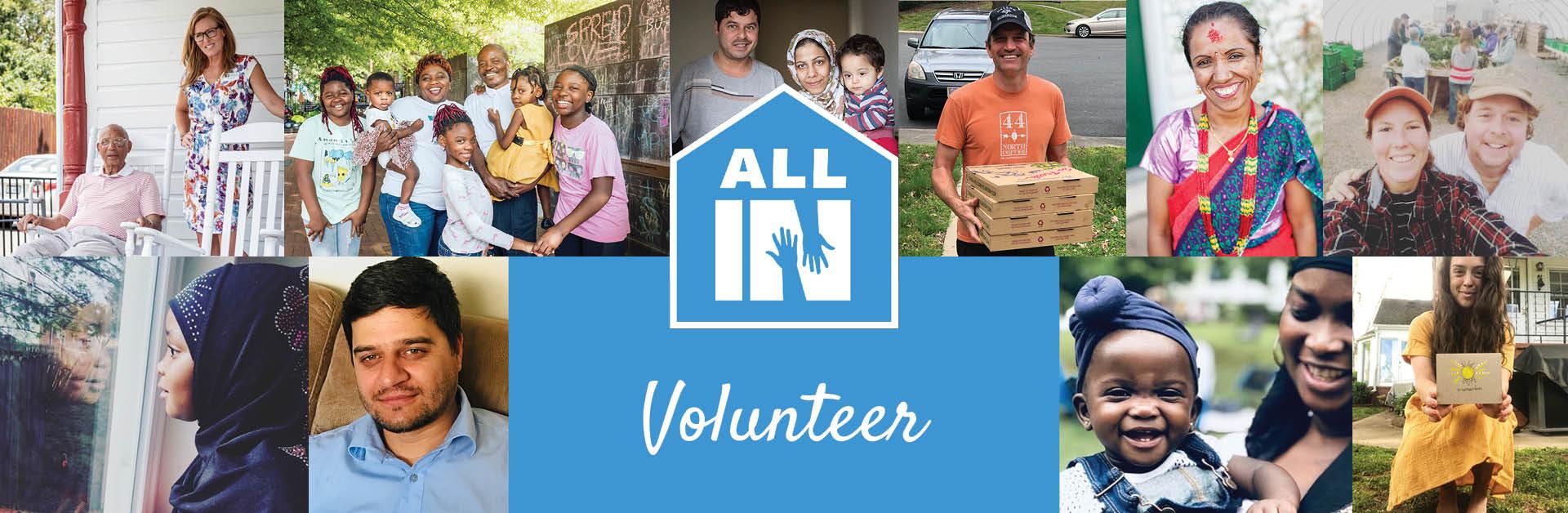All In Hero Image_Volunteer
